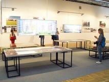 建筑学和设计的第19国际陈列 图库摄影