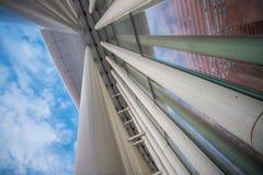 建筑学在卢森堡 库存图片