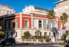 建筑学在尼斯法国 库存图片