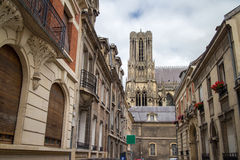 建筑学在法国 免版税库存照片
