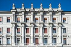 建筑学在的里雅斯特,意大利 免版税库存图片