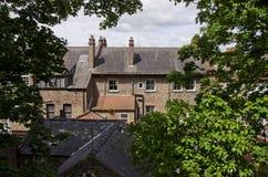 建筑学在约克,英国,欧洲 免版税库存图片