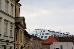 建筑学在萨格勒布 库存图片