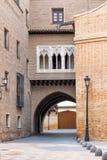 建筑学在西班牙 免版税库存图片