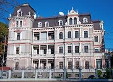 建筑学在里加,拉脱维亚 库存照片