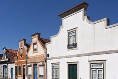 建筑学在阿威罗, Beiras地区, 库存图片
