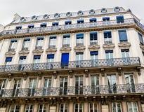 建筑学在巴黎 免版税库存照片