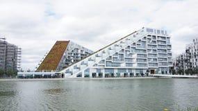 建筑学在Copenhangen 库存图片