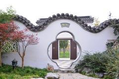 建筑学在Suzho 库存照片