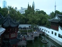 建筑学在Yu元庭院,上海,中国 股票录像