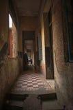 建筑学殖民地金边,柬埔寨 免版税库存图片