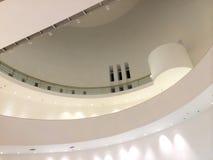 建筑学现代设计内部 免版税库存图片