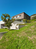 建筑学现代设计,房子 库存照片