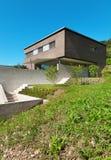 建筑学现代设计,房子 免版税库存图片