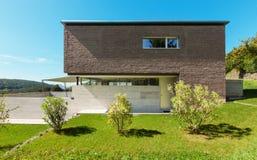 建筑学现代设计 免版税库存图片