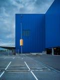 建筑学百货商店和街道的抽象派元素 免版税图库摄影