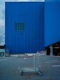 建筑学百货商店和街道的抽象派元素 库存照片