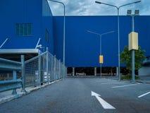 建筑学百货商店和街道的抽象派元素 库存图片