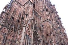 建筑学美丽的惊人的大教堂 免版税图库摄影