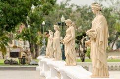 建筑学轰隆pa在宫殿泰国 图库摄影