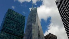 建筑学,大厦, nyc,曼哈顿 免版税图库摄影