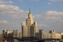 建筑学,莫斯科 免版税库存照片