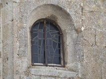 建筑学细节在列斯Baux de普罗旺斯,法国 免版税库存照片