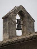 建筑学细节在列斯Baux de普罗旺斯,法国 免版税库存图片