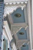 建筑学细节,法国街区,新奥尔良 路易斯安那 库存图片