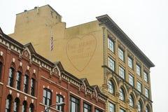建筑学-西勒鸠斯,纽约 免版税库存照片