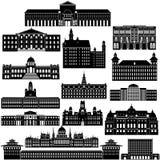 建筑学1 免版税库存照片