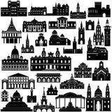 建筑学10 免版税库存图片