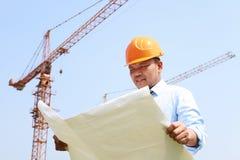 建筑工人 免版税库存照片