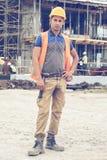 年轻建筑工人3 免版税图库摄影