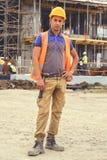 年轻建筑工人4 免版税库存照片