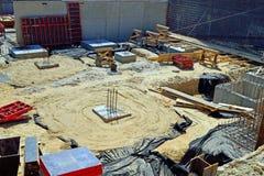 建筑工地 库存图片