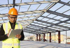 建筑工程师 免版税库存图片