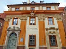 建筑师的部门在波兰 库存照片