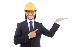 年轻建筑师 免版税库存图片