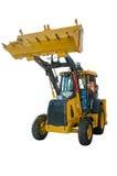 建筑推土机拖拉机挖掘机 图库摄影