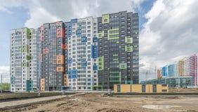 建筑新的大厦在莫斯科 免版税图库摄影