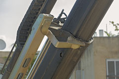 建筑机械工作  库存图片