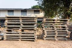 建筑材料分部本机建筑 免版税图库摄影