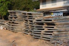 建筑材料分部本机建筑 库存图片