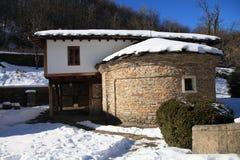 建筑民族志学复杂Etar,加布罗沃,保加利亚 免版税库存照片