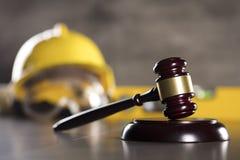 建筑法律 免版税图库摄影
