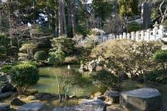 筑波圣寺庙圣洁池塘  图库摄影