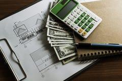建筑的投资有极限预算的 图库摄影