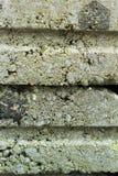 建筑背景纹理的灰色砖 库存照片