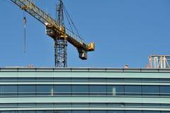 建筑进步办公楼在维尔纽斯 免版税库存图片